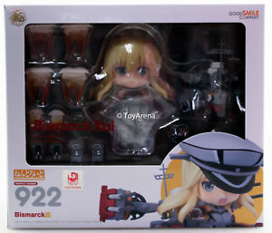 Nendoroid # 922 Collection Bismarck Kai Kantai - kancolle - Authentique En Stock Usa 4580416905381