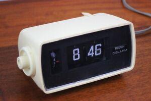 Vintage Eames Era RICOH DIGILARM Alarm Clock Flip Number [6048]