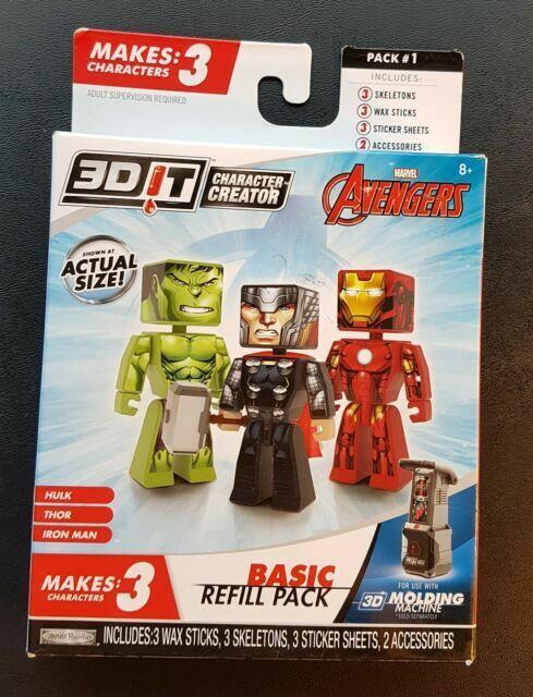 3DIT Character Creator DC Deluxe Refill Model Kit