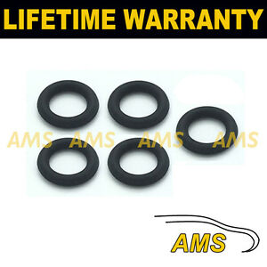 FOR-VOLVO-2-0-DIESEL-INJECTOR-LEAK-OFF-ORING-SEAL-SET-OF-5-VITON-RUBBER-UPGRADE