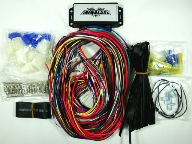 Ultima Plus Compact Electronic Wiring Harness Kit Bobber Chopper Harley on ultima motor wiring diagram, ultima harness 18 530, ultima electronic wiring system,