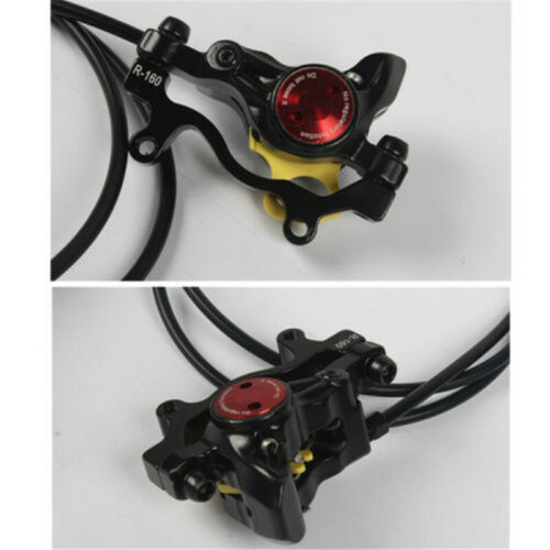 Cycling Front/&Rear Set Hydraulic Disc Brakes Oil Disc For Mountain Bike MTB ZOOM
