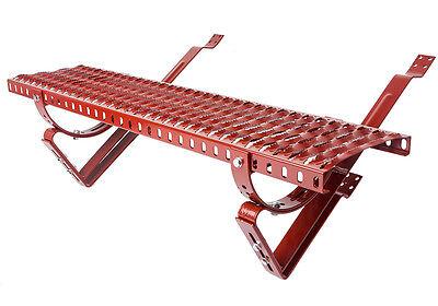 DACHTRITT Steigtritt 100cm f/ür Dachziegel und Biberschwanzziegel zum Einh/ängen Verzinkt