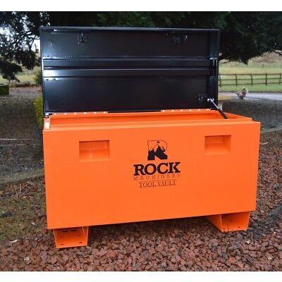 Steel Job Site Tool Box Van forklift Garage Vault Site Security By RockMachinery