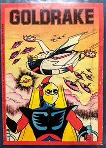 Vintage Grendizer Goldrake Atlas Ufo Robot Manga italian comic book 1970's