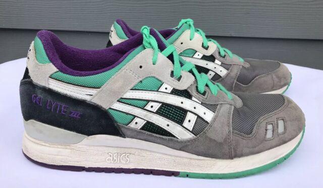 online retailer 4dea0 dd1b7 Asics Gel Lyte III Men's Off Grey/White #H405N Running Trail Shoes Size US  11