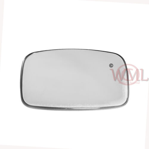 FORD ESCORT 1995-/>2002 DOOR MIRROR GLASS SILVER,NON HEATED /& BASE,LEFT SIDE