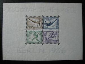 THIRD-REICH-Mi-Block-5-mint-Summer-Olympics-stamp-sheet-CV-60-00
