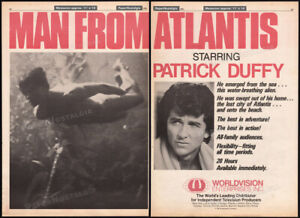 MAN-FROM-ATLANTIS-Orig-1981-Trade-AD-TV-series-promo-poster-PATRICK-DUFFY