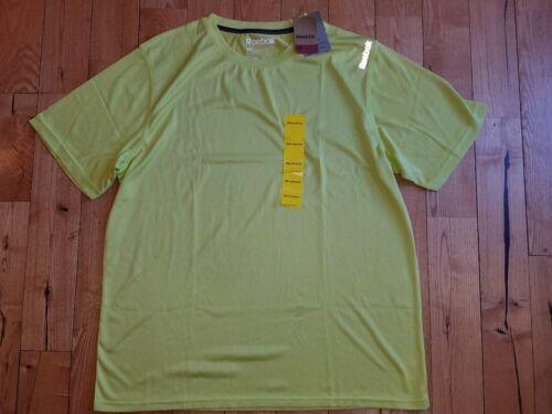 NWT Men/'s Limeade REEBOK Short Sleeve Performance T-Shirt Size XL X-LARGE