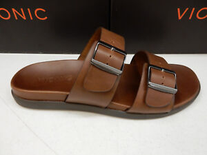 f1868154fb53 Image is loading VIONIC-MENS-SANDALS-CHARLIE-SLIDE-BROWN-SIZE-12