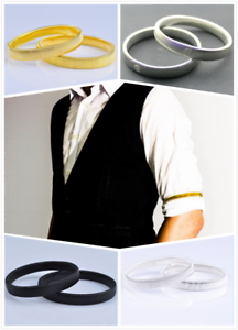 2-x-Mens-Shirt-SLEEVE-HOLDER-Arm-Bands-Men-Sleeves-Hold-Ups-Elasticated-Armbands