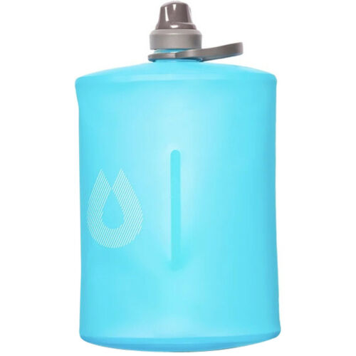 HydraPak Stow 1L Flexible Water Bottle with Spill-Proof Nozzle