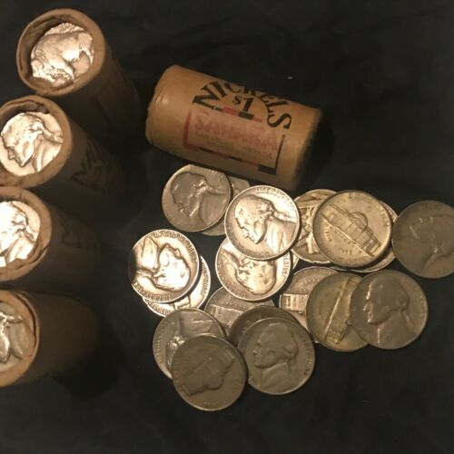 Rare SAHARA CASINO 1950-1960 NICKEL SHORT $1 CASINO ROLL VERY UNIQUE