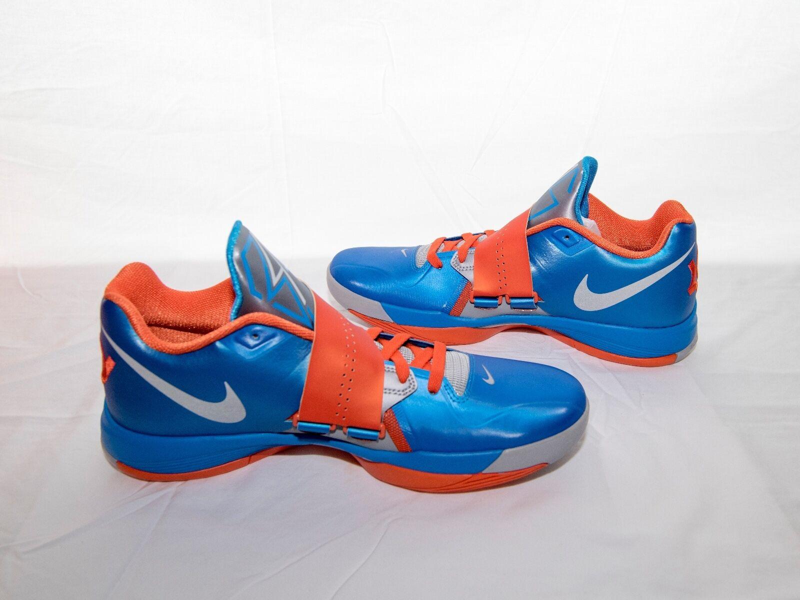 New Nike Zoom KD IV 4 Promo Unreleased color PHTblue BOM ID 308715 Size 12.5 OGB