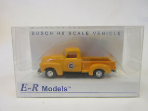 Busch-E-R-Models-1950-Chevrolet-Pickup-Erie-Railroad-Fertigmodell