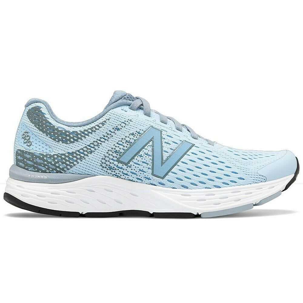 New Balance 680v6 Womens bluee Trainers Wide Running Sneakers shoes Size W680LA6