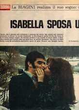 Q8 Clipping-Ritaglio 1969 Isabella Biagini sposa un giovane poliomielitico