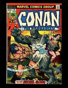 50/% off Guide! 1975 John Buscema art Conan the Barbarian 50, VF 8.0