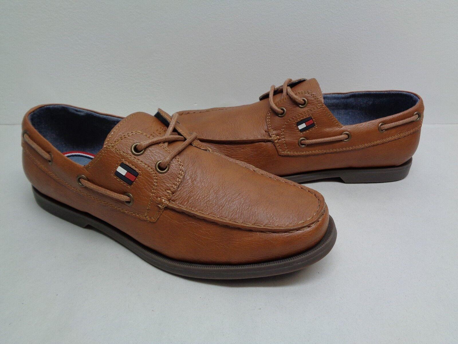 Tommy Hilfiger Size Size Size 9 M ALDEZ Tan Natural New Uomo Lace Boat Shoes 7e2c1d