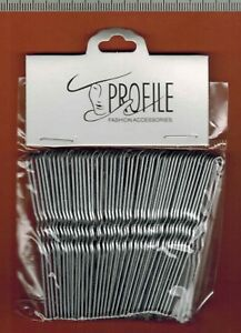 EPINGLE NEIGE A CHIGNON NOIR ONDULEE SACHET DE 40 PIECES N°27 6,5 Cm