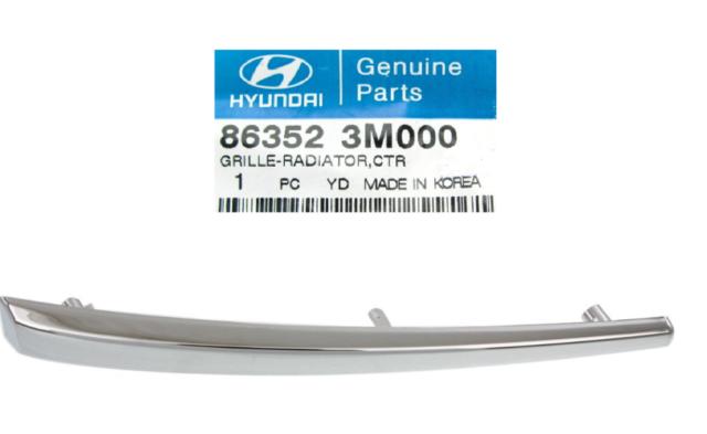 Genuine Hyundai 86352-3M000 Radiator Grille
