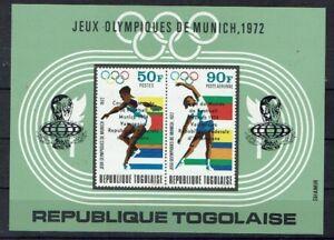 Afrique Togo Minr Bloc 90 Cachet **