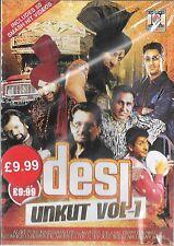 DESI UNKUT VOL 1 - 50 SMASH HITS VIDEOS - NEW BHANGRA MUSIC DVD