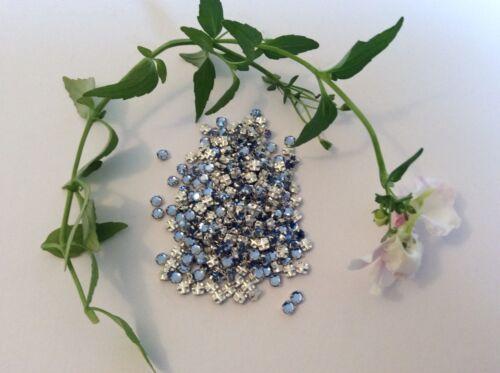 Swarovski Rose Montees Saphir Prong Set Pack De 30 Artisanat Poste Gratuit