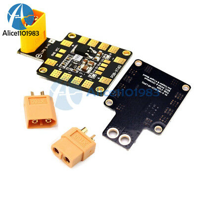 LinsyRC Power Distribution Board PDB XT60 with BEC 5V and 12V 2oz Copper for RC Helicopter Quadcopter
