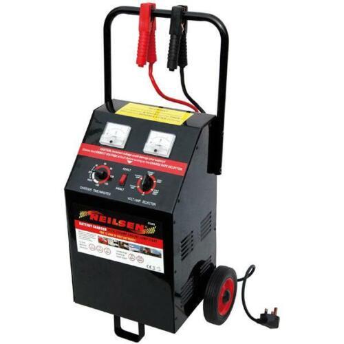 Battery Starter Charger 10 to 200 amp 12v-24v Heavy Duty Neilsen CT3393