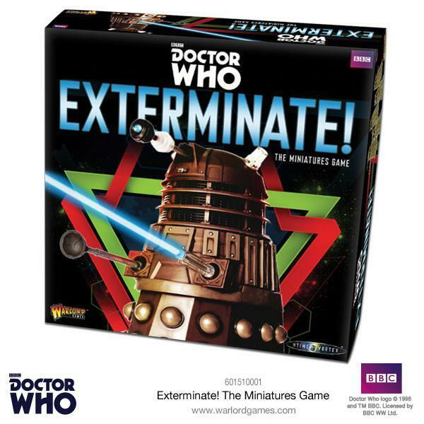 Warlord Games - Doctor Who - Exterminate - In to the Time Vortex Game