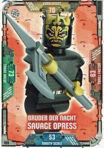 Lego-Star-Wars-Serie-1-Cartas-Coleccionables-Tarjeta-109-Bruder-el-Noche