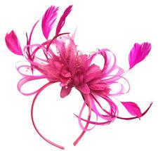 69e447c479c6 Customised Feather Hair Fascinator on Headband Wedding Royal Ascot Races  Bespoke