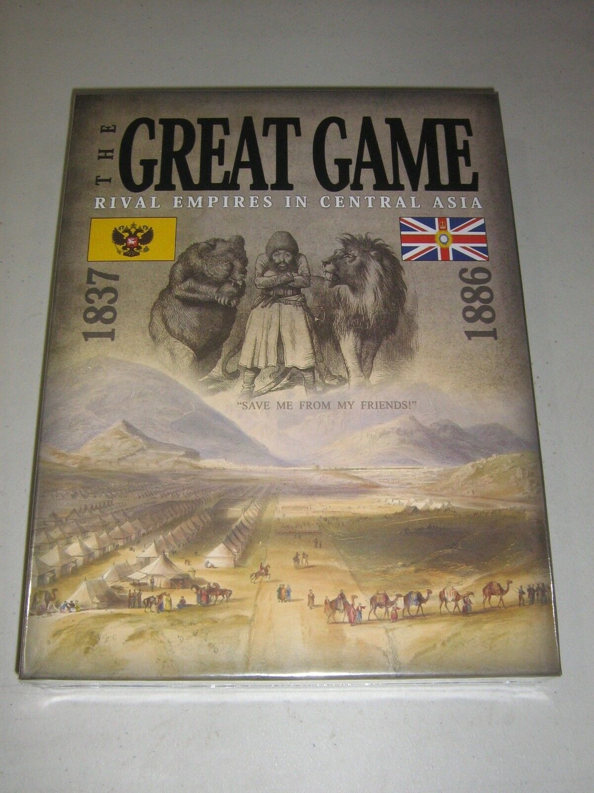 The Great Game: Rival Empires in Central Asia 1837-1886 (New)