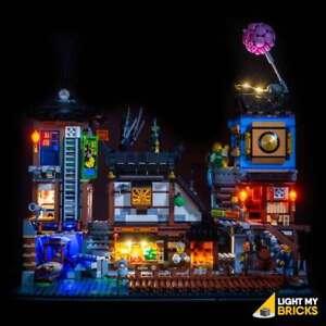 LIGHT-MY-BRICKS-LED-Light-kit-for-LEGO-Ninjago-City-Docks-set-70657