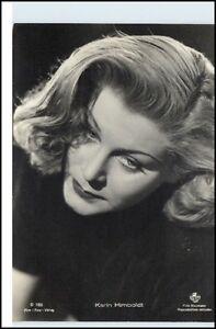 KARIN-HIMBOLDT-Schauspielerin-Kino-Film-Buehne-Echtfoto-AK-ca-50er-Jahre