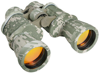 ACU Digital Camouflage Military 10x50 Magnification Tactical Binoculars w/ Case