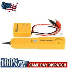 Rj11 Line Finder Cable Wire Tone Generator Probe Tracer Tracker Tester Us
