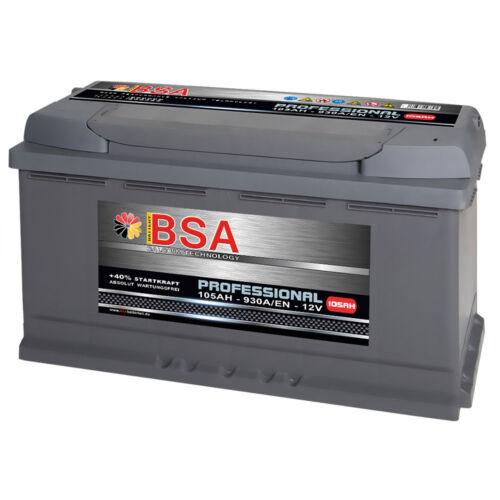 Autobatterie 105Ah 12V 930A//EN ersetzt 88Ah 95Ah 100Ah 110Ah Audi BMW Mercedes