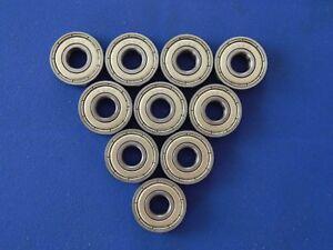 10-Stueck-608-ZZ-2Z-8x22x7-mm-Kugellager-Miniaturkugellager