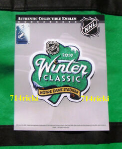 Image is loading Official-NHL-2019-Winter-Classic-Patch-Chicago-Blackhawks- 994fe0434