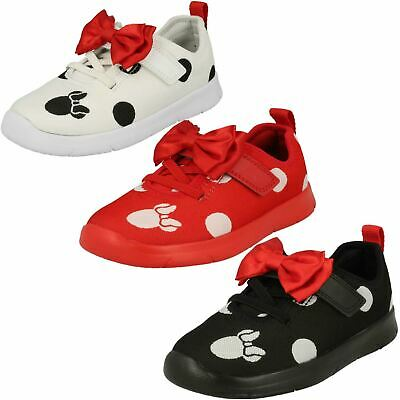 GIRLS CLARKS ATH BOW TODDLER HOOK