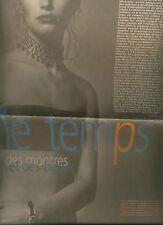 journal sur montres/bijoux - supplement au monde + le monde du 29/04/1999