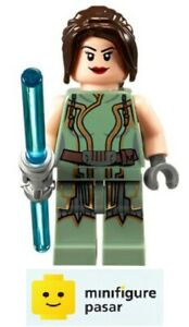 sw389 Lego Star Wars 9497 - Satele Shan Minifigure with Lightsaber - New