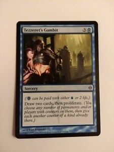 Tezzeret-039-s-Gambit-1X-NM-New-Phyrexia-MTG-Magic-the-gathering
