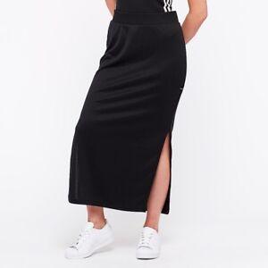 eb5bd0fa13ca9 Details about nwt~Adidas Originals EQT PINSTRIPE Side Slit ELEGANT LONG  Dress-SKIRT~Women sz L