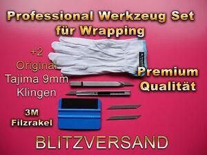 TOP SET !!! 3M Rakel mit 2 mm Filzkante!, 30° Cuttermesser Made in Japan - Wedel, Deutschland - TOP SET !!! 3M Rakel mit 2 mm Filzkante!, 30° Cuttermesser Made in Japan - Wedel, Deutschland