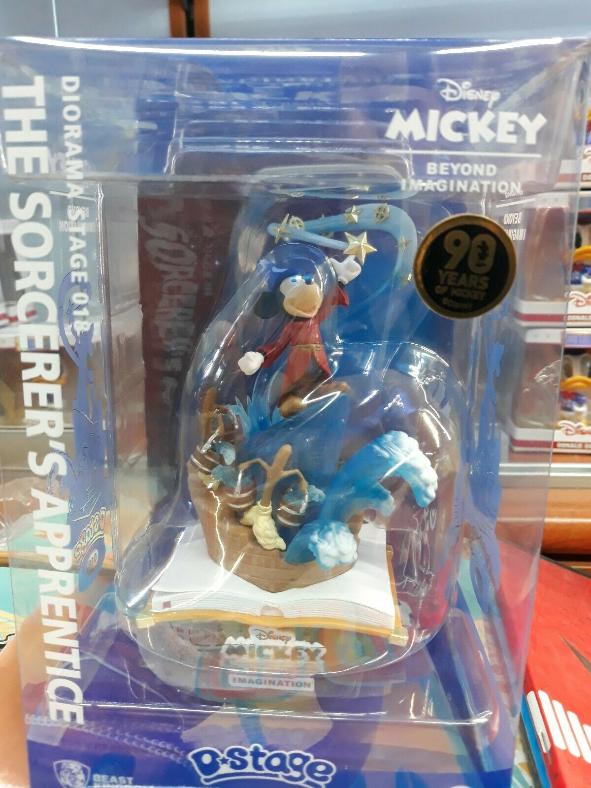 FANTASIA  THE SORCERER'S APPRENTICE D-STAGE BEST KINGDOM 018 MICKEY MOUSE