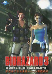 BIOHAZARD-3-LAST-ESCAPE-POSTCARD-BOOK-1999-JAPAN-RESIDENT-EVIL-PS1-ZOMBIE-CAPCOM